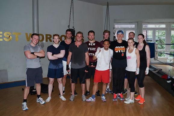 9. GFA Fitness Boxing Workout am 02.07.2013