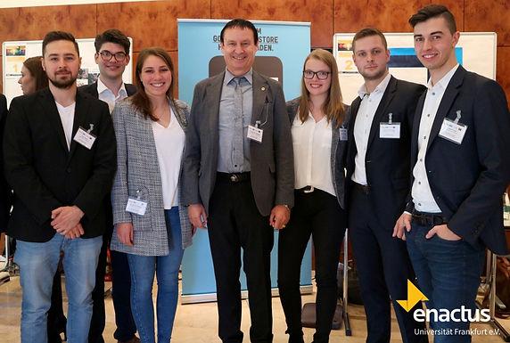Enactus Uni Frankfurt and GFA at Enactus Startup Accelerator Competition, April 28th, 2017