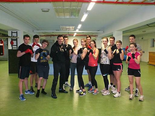 Boxing-Event von Enactus Universität Mannheim Team am 17.03.2015 in der Universität Mannheim
