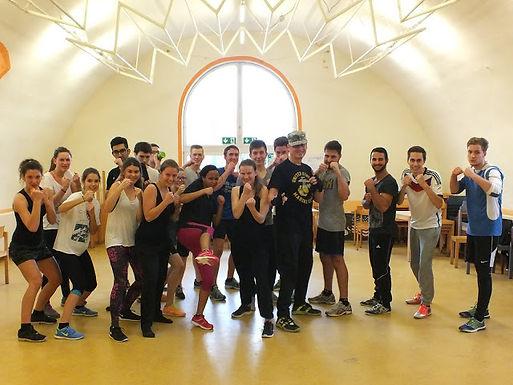 Boxing bei Teambuilding-Weekend von Enactus Goethe-Universität Frankfurt Team am 05.12.15