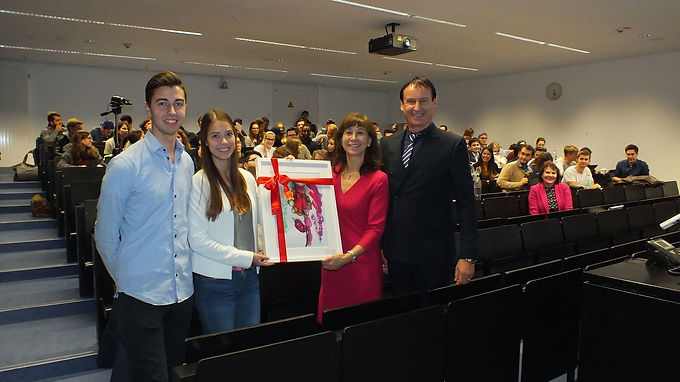 Top Executive Guest Speech with Dr. Traud, Helaba, at Campus Westend, October 31st, 2016