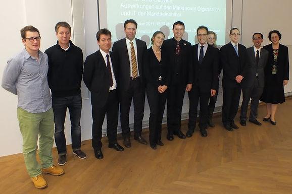GFA-Premium-Partner HighQ IT for the financial industry GmbH mit Fachvortrag im HoF am 08.12.2011