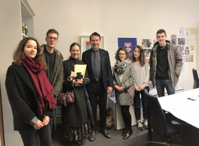 GFA welcomes Paris Dauphine University at House of Finance, December 21st, 2017