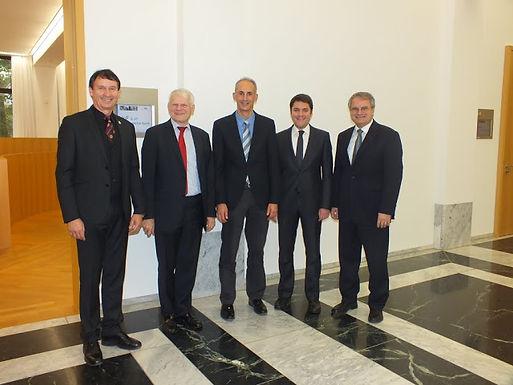 Besuch des Botschafters der Bundesrepublik Deutschland in London im House of Finance am 30.10.2012