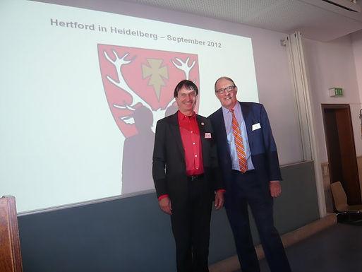 GFA meets Oxford Business Alumni am 07.09.2012 in der Universität Heidelberg
