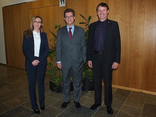 Executive Suite Leadership: Guest lecture series mit Thomas Kästele und Dr. Trummer am 18.11.2013