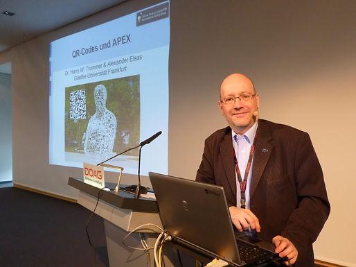 GFA mit Vortrag auf der DOAG 2012 am 22.11.2012