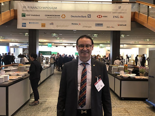 Dr. Trummer at 30. Financesymposium 2018 in Mannheim, April 26th/27th, 2018