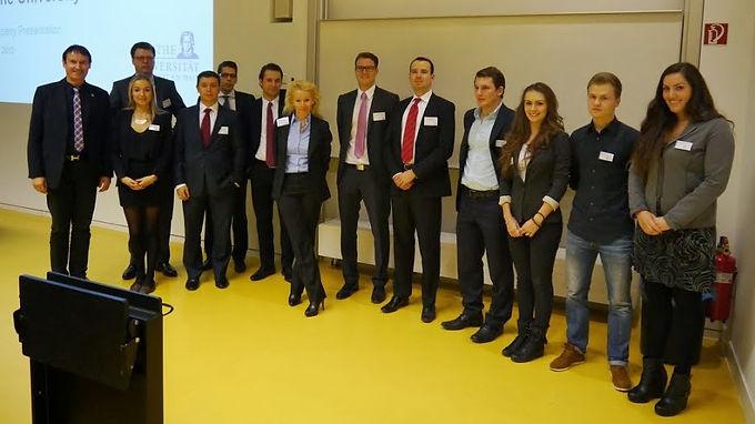 GFA-Premium-Partner Citi@Goethe Finance Association im Campus Westend am 30.10.13