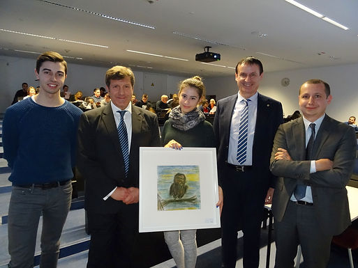 Top Executive Guest Speech with UniCredit at Campus Westend, January 23rd, 2017