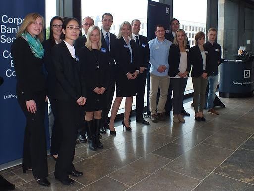 GFA-Premium-Partner Deutsche Bank@Campus mit Fachvortrag auf dem Campus Westend am 16.05.2013