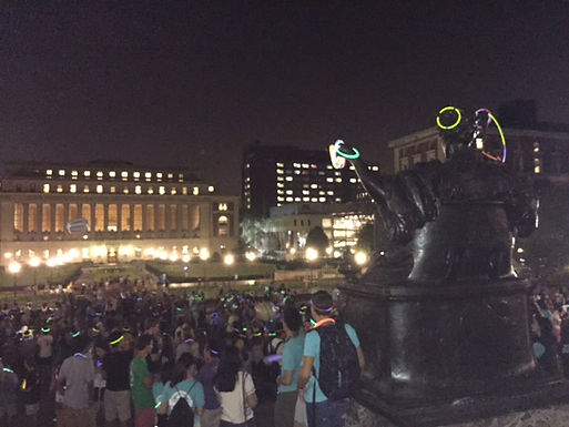 GFA at Freshmen Event on Campus at Columbia University in the City of New York, September 2nd, 2015