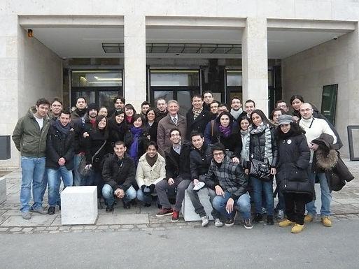 Universita' di Catania am 15.03.2010 zu Besuch im House of Finance