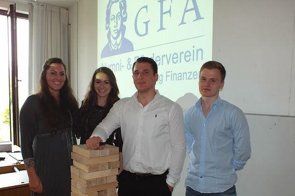 GFA begrüßt die neuen Erstsemester-Studierenden anlässlich der E!Woche am 23.09.2013