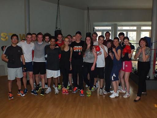8. GFA Fitness Boxing Workout am 23.04.2013