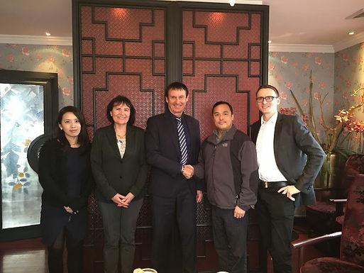 GFA meets Praesidium der Shanghai Jiao Tong University in Shanghai am 03.04.15