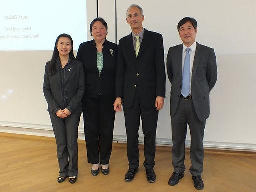 China Development Bank zu Gast im HoF am 28.10.11
