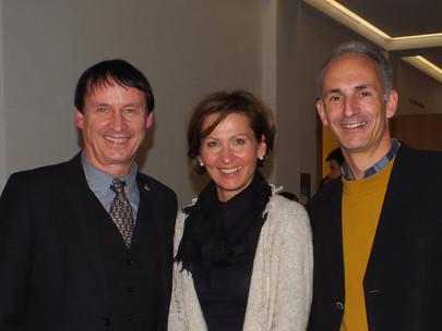GFA bei der Weihnachtsfeier des House of Finance am 13.12.2012