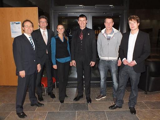 GFA-Premium-Förderunternehmen Nanostart AG mit Fachvortrag im Hörsaalzentrum am 11.01.2012