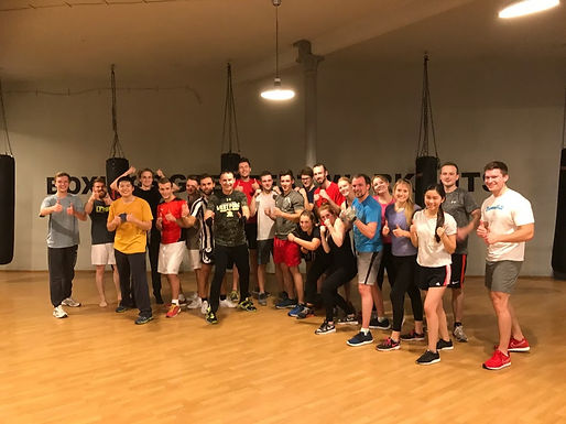 22. Exclusive GFA Boxing Workout, November 7th, 2017