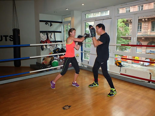 14. GFA Personal Fitness Boxing Workout am 08.07.2014