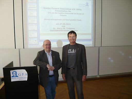 GFA-Presentation in der U3L im HoF am 27.06.2011