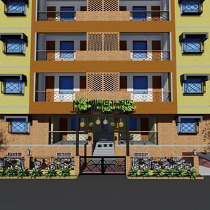 G+4 Apartment
