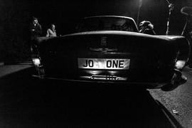 On the night shoot.
