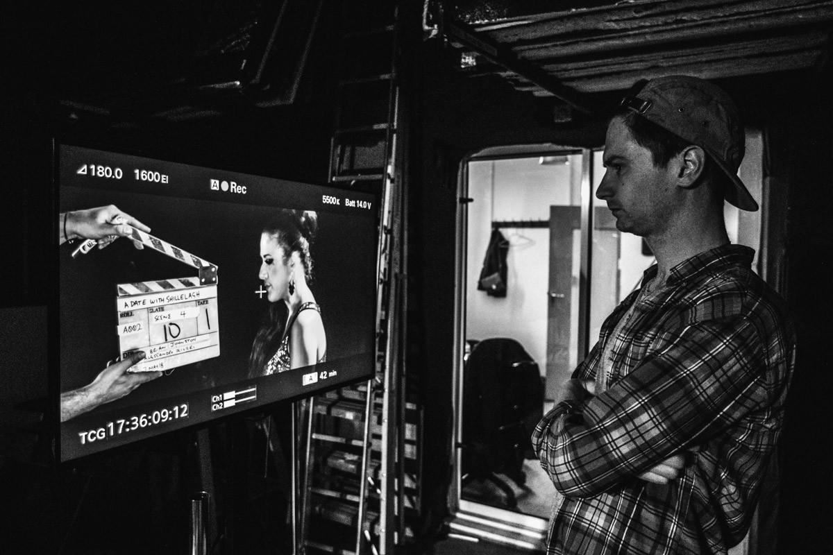 Director Brian Johnston