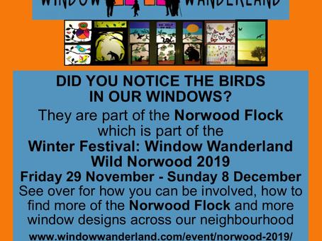 Window Wanderland 29th November - 8th December: