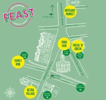 NPA at Feast this Sunday 3rd November