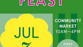 NPA will be at Feast this Sunday 7th July from 11.30am - 4pm