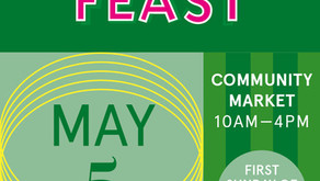 NPA will be at Feast this Sunday 5th May