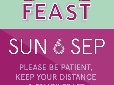 NPA at Feast Sunday 6th September 2020