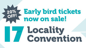 Locality Annual Convention '17, 14th & 15th November @ The Midland Manchester
