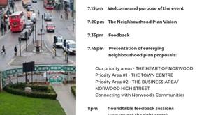 NPA Agenda for Vision Event #2 + AGM 14th November 7-9pm