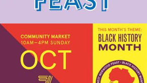 Feast Sunday 7th October 10am - 4pm