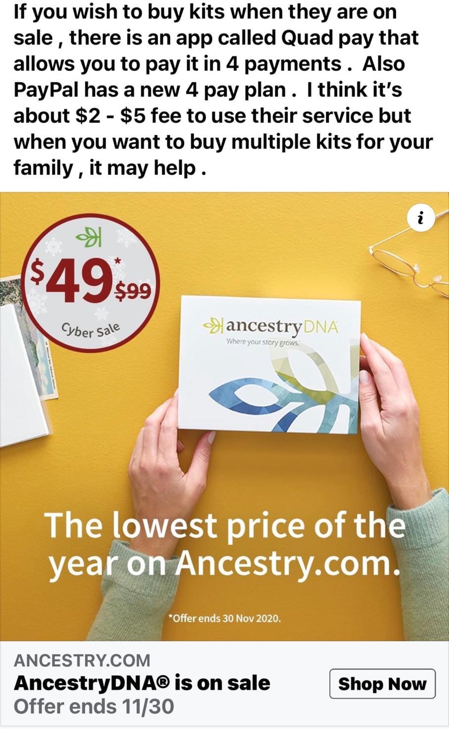 DNA Kit Sales