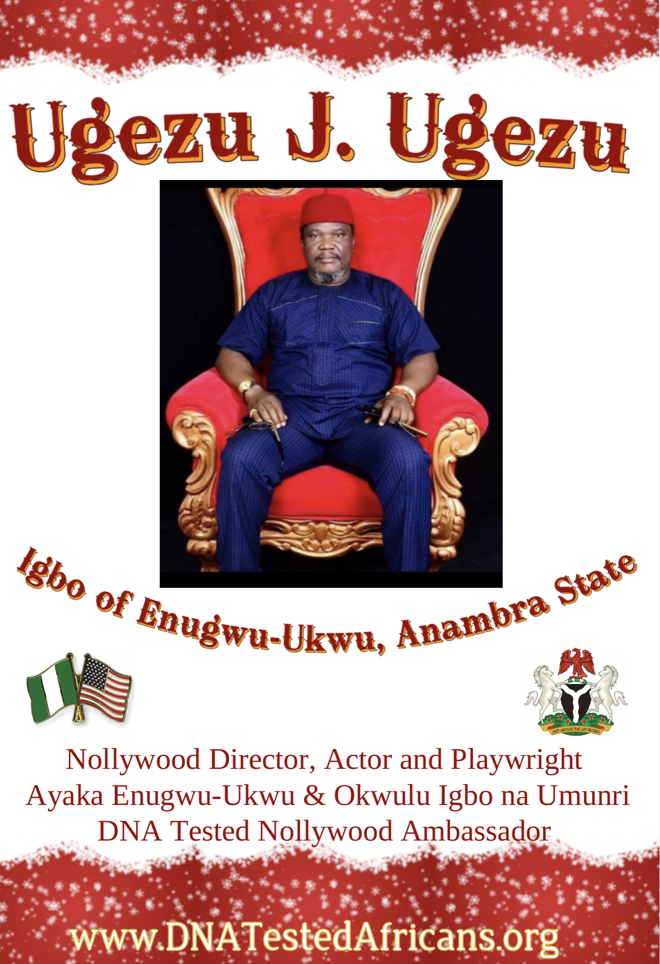 Ugezu J Ugezu of Nollywood