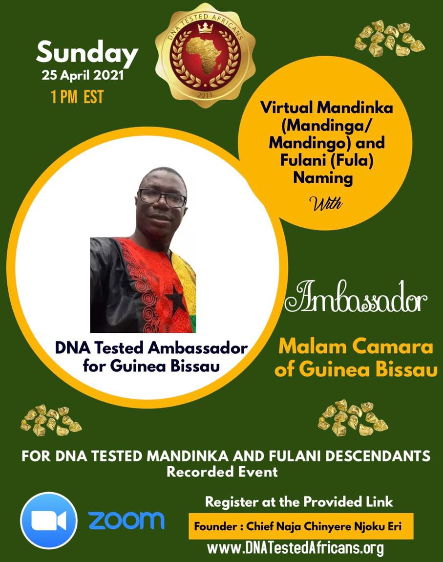 Mandinka and Fulani Naming Ceremony 25 April 2021