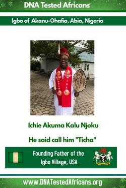 Dr Ichie Akuma Kalu Njoku