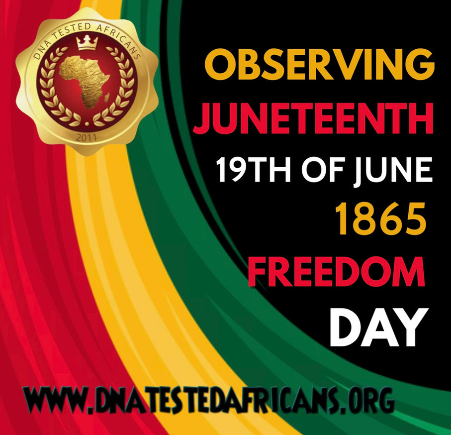 Juneteenth Observances 2021