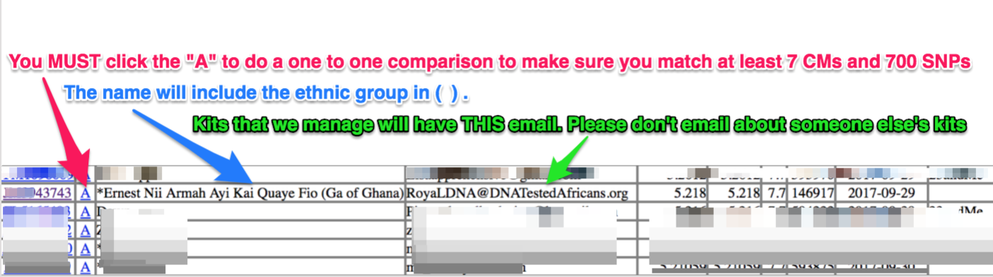 Dnatestedafricans newsletters gedmatch for african royal dna project matches updated 22 mar 2018 solutioingenieria Choice Image
