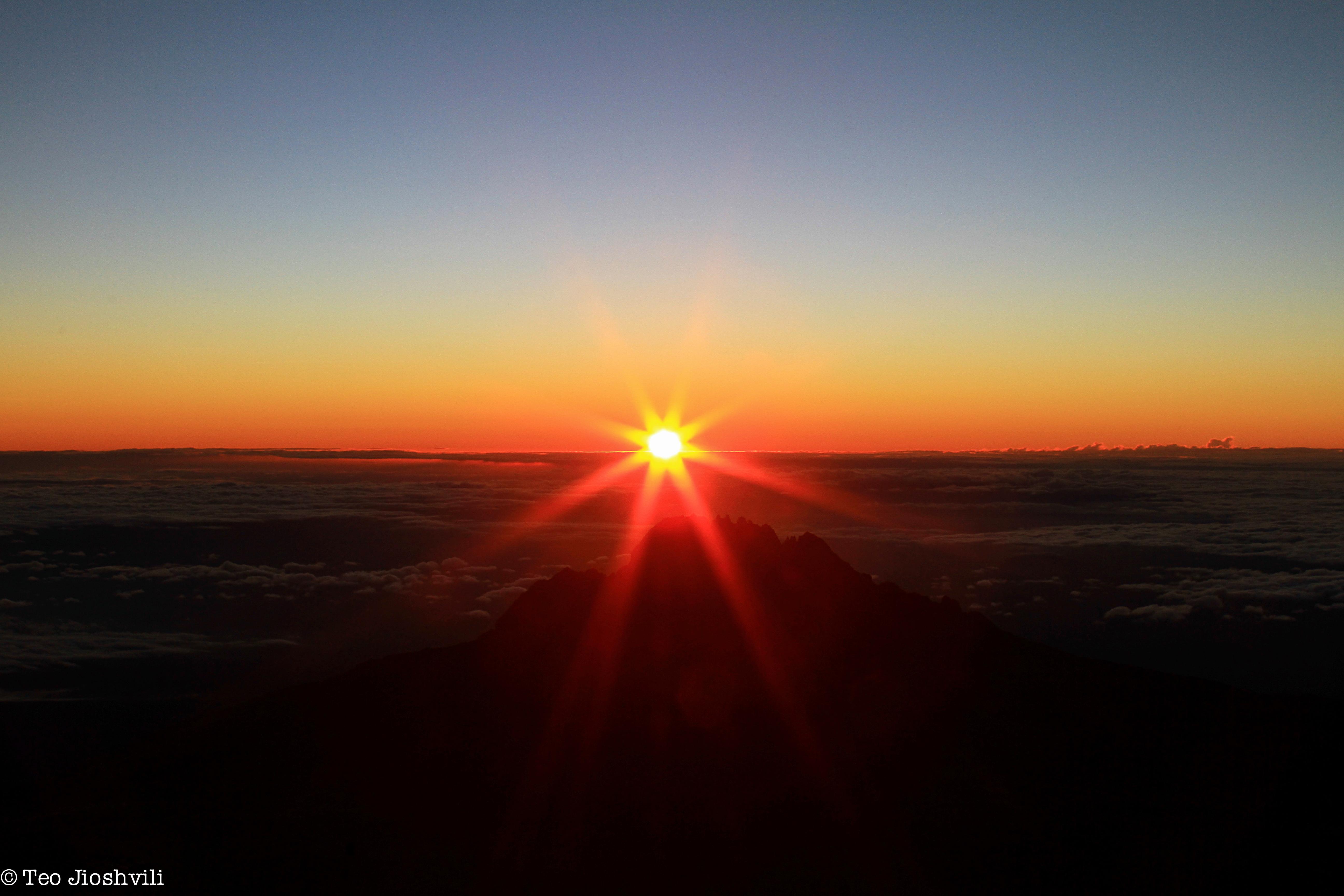 Uhuru Peak, Mt Kilimanjaro
