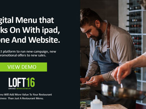 Look Beyond a Touchless And Paperless Digital Restaurant Menu