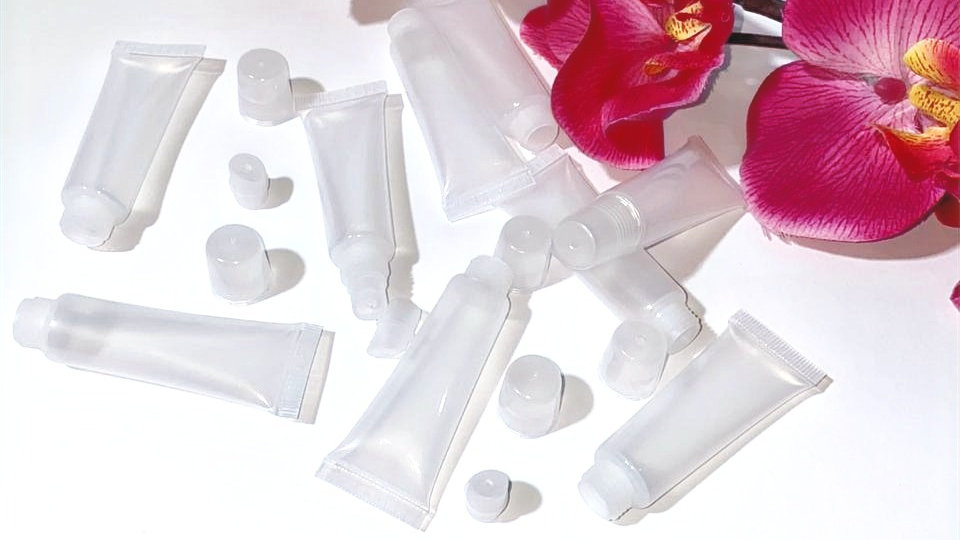 Empty Clear Squeeze Tubes 10ml (10pcs)