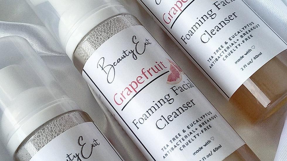 Grapefruit Foaming Facial Cleanser