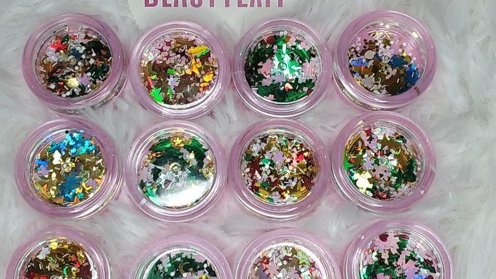 Christmas Confetti for lipgloss