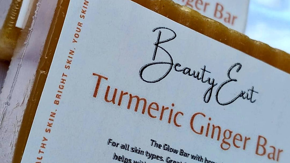 Turmeric Honey Ginger Facial Bar