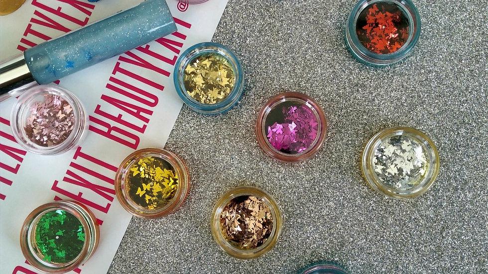 Butterfly Confetti Bundle(4 Colours/3g Jars)